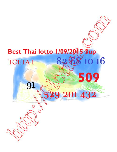 lottery draw tip for thailand 1-9-2015
