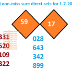 Thai non-miss sure direct sets for 1-7-2018