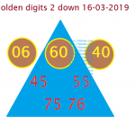 2 down 16-03-2019 golden digits