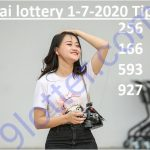 Thai lottery 1-7-2020 online tips for July 1st draw